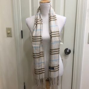 Burberry Of London Cashmere Scarf
